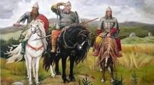 Русские богатыри, театрализованная экскурсия в Русском музее (5+)