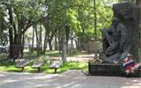 Памятник воинам-интернационалистам, павших в Чечне и Афганистане
