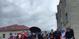 В Гатчине отметили День России