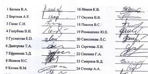 За подделку подписей жильцов