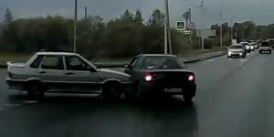 Видео ДТП на Аэродроме