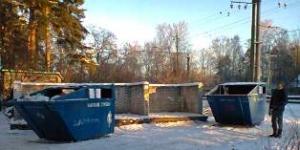 Вывоз мусора в Вырице