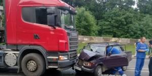 Видео ДТП: авария въезд
