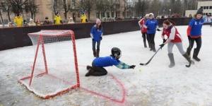 Хоккей в валенках возрождается в Ленинградской области