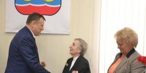 Александр Дрозденко встретился с гатчинскими ветеранами