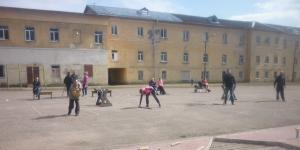 Чемпионат города Гатчина по городошному спорту