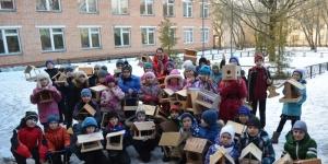 Конкурс кормушек от Гатчинского дворца