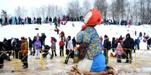Проводы зимы и встреча весны в Гатчине