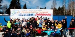 8 марта -  36 Гатчинский лыжный марафон