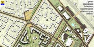 АЭРОДРОМ - проект планировки Западного строительного района