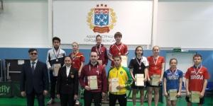 Татьяна Чикунова привезла золото Первенства по настольному теннису