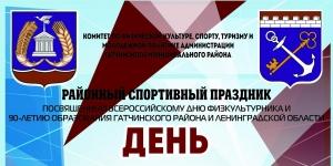 В Гатчине пройдет День физкультурника