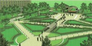 Программа ремонта дворов и скверов в Гатчине - на пятилетку