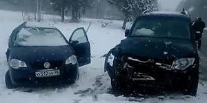 ДТП около деревни Мельница (видео)