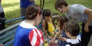 Праздник для украинских детей