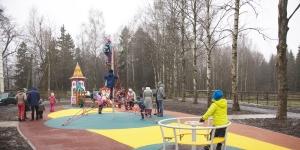 Комфортная городская среда: любимый двор с видом на парк