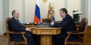 Беседа Дрозденко с Владимиром Путиным