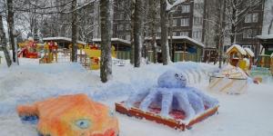 Конкурс снежных построек