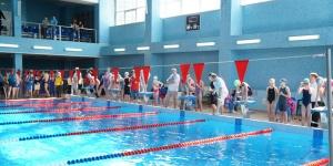 Областные соревнования по плаванию на призы