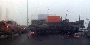Вчерашняя авария в ДОНИ (ВИДЕО)