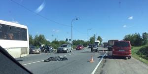 В поселке Верево в ДТП погиб мотоциклист