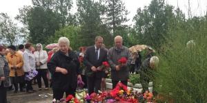 Ветераны Гатчинского района посетили мемориал «Гвоздика» в пос. Пудость