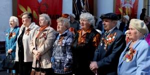 Праздник в Коммунаре в честь Победы