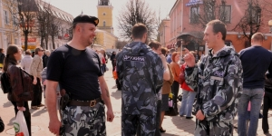 """Правопорядок на Пасхальном фестивале """"Красная Горка"""""""