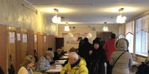 Гатчинский район проголосовал на выборах Президента России