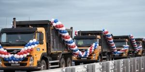 Путин открыл новый участок трассы Р-23 вокруг Гатчины
