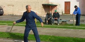 Городошный спорт на селе