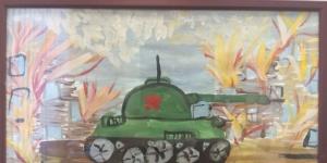Конкурс детских рисунков, посвященный Дню Великой Победы
