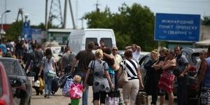 Беженцы из Украины прибыли в Гатчинский район