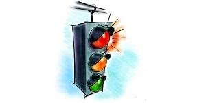 Дорожные знаки и разметка около школ
