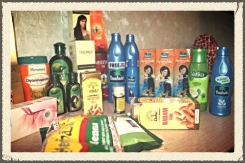 Косметика и товары из индии